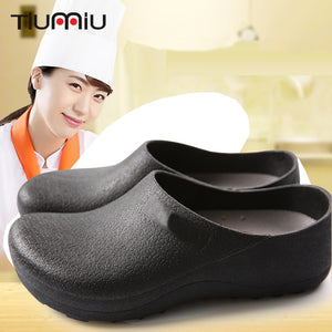 Men Women Chef Shoes Casual Flat Work Shoes Unisex Breathable
