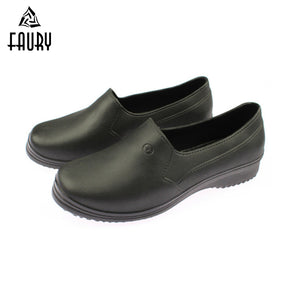 Chef Shoes Men Women Lightweight Anti-skid Shoes Kitchen Hotel Coffee Shop