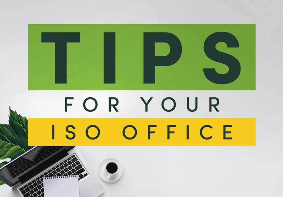 WFH tips for your ISO office