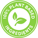 100% Plant Based Ingredients