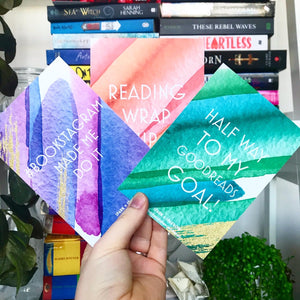 Bookish Milestone Cards Set - Colour Pop