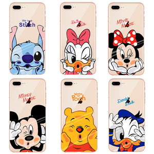 Mickey Minnie Cases For iPhone/ Redmi