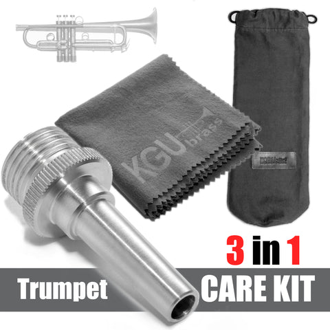 3 in 1 set. Trumpet KGUBrass Cleaning and Care kit.