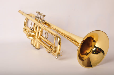 Trumpet Bach Stradivarius 180-37 Gold Lacquered