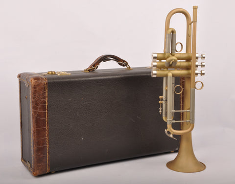 Trumpet Bach Stradivarius 37 Customized by KGUbrass