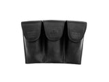 Trumpet Mouthpiece POUCH (4 models). Crazy Horse Leather.
