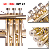 Trumpet MEDIUM Trim kit. KGUBrass