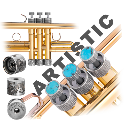 Trumpet ARTISTIC series Trim Kit KGUBrass