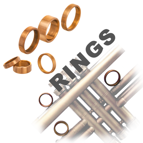 KGUBrass Finger rings (set of 3) for brass instruments