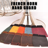 French Horn Hand Guard. Large. Genuine Leather. 7 colors