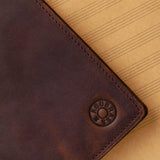 Music NoteBook KGUBrass, Leather.