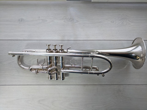 Edwards Gen3 Bb Trumpet Silver . Light Used