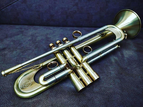 TRUMPET SELMER PARIS B700 BB, KGUBRASS CUSTOMIZED