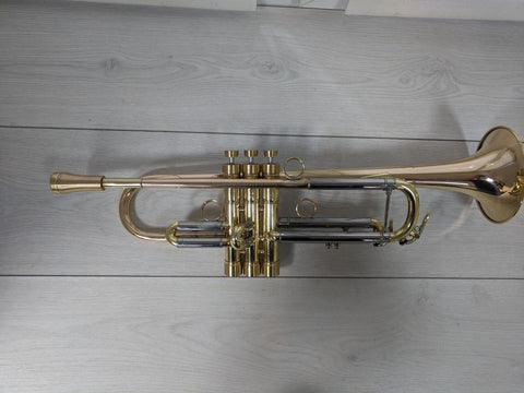 Trumpet Yamaha Custom YTR-800G CUSTOMIZED BY KGUBRASS