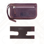Trumpet gift set #1 - Leather Pouch + Valve Guard
