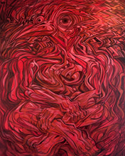 Load image into Gallery viewer, Rubrum - 36x48 Painting