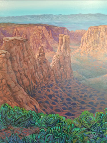 Monument Canyon - 24x30 Painting