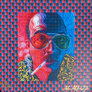 Buy the Ticket, Take the Ride - Blotter Art LIMITED EDITION