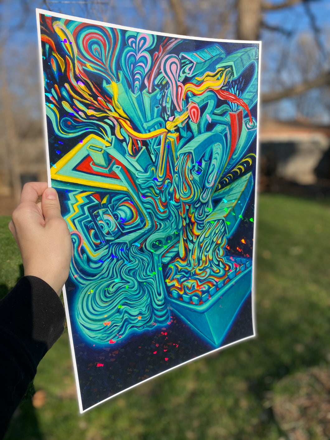 Sustain Yourself - Holographic Print LIMITED EDITION