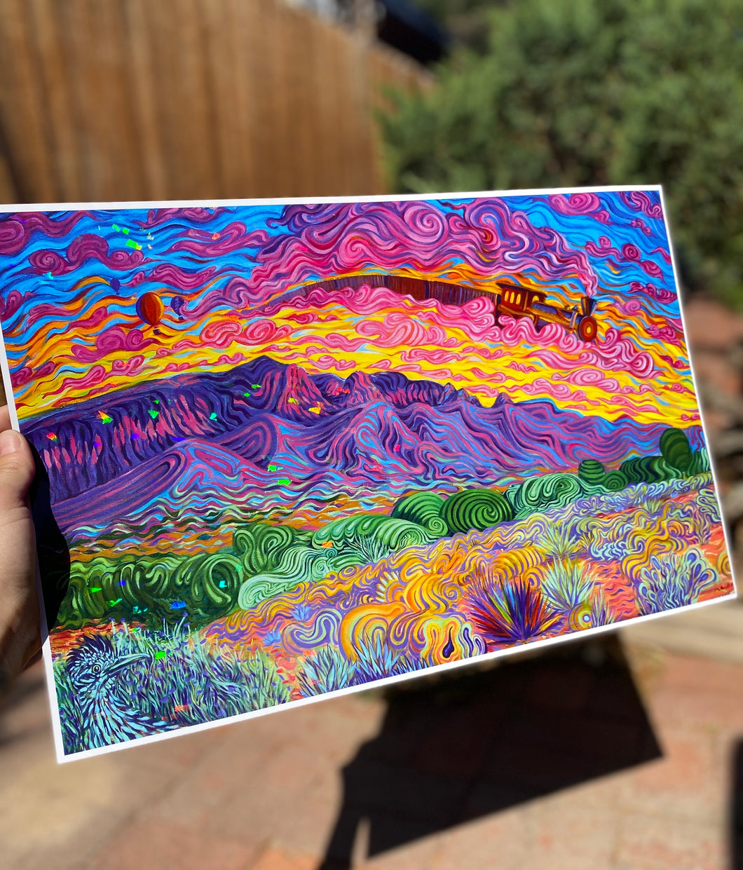 Sunrise - Holographic Print LIMITED EDITION
