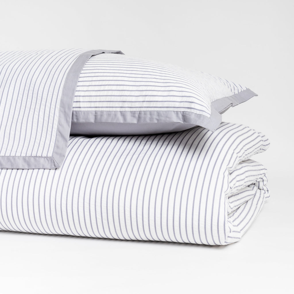Accent Striped Duvet Cover Set