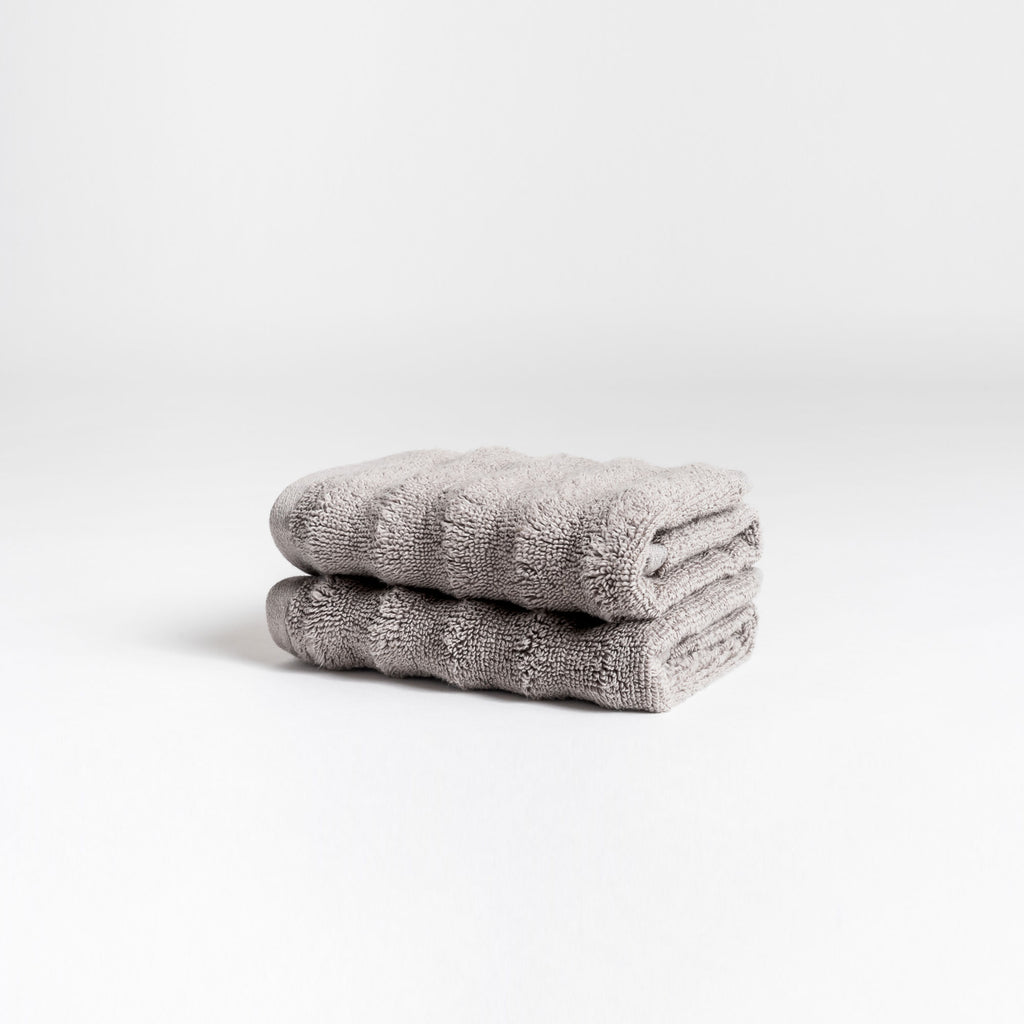 Zero-Twist Wavy Washcloths
