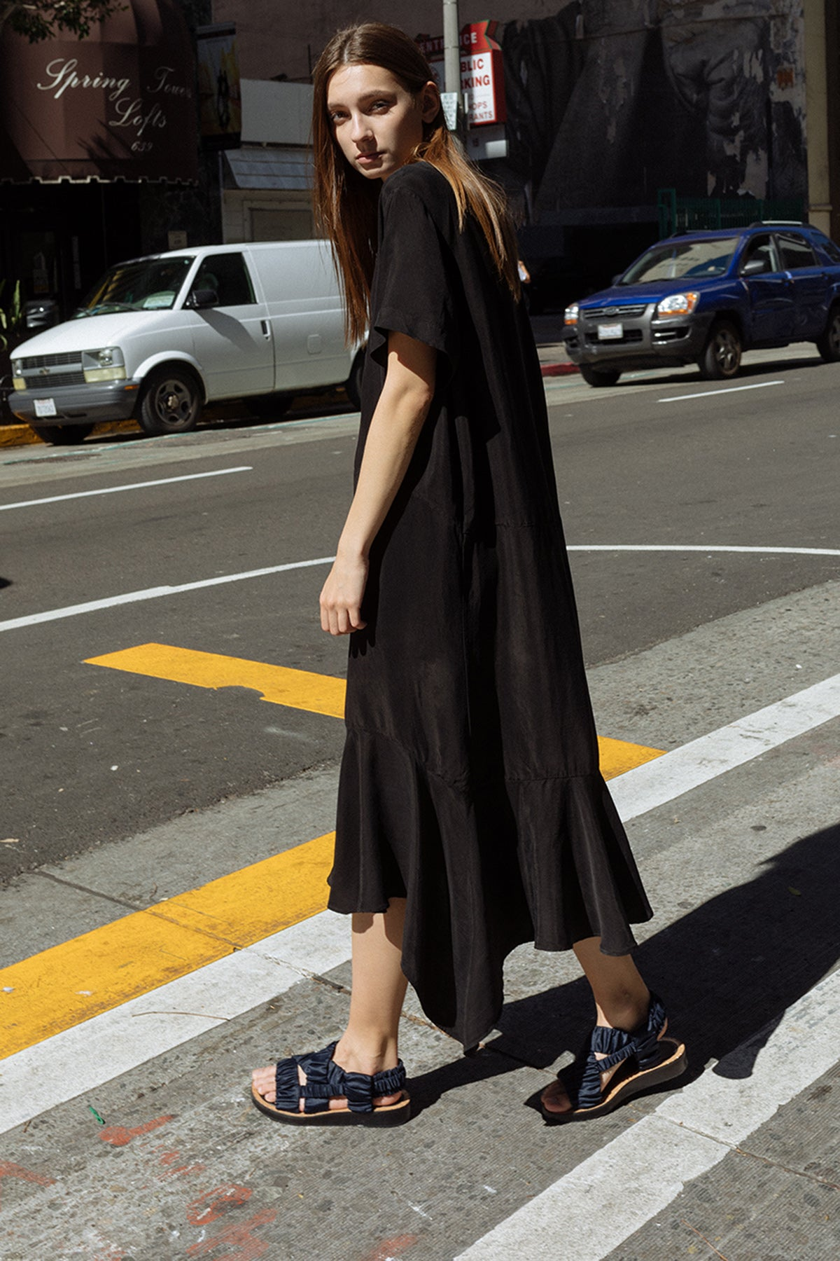 Clove Dress in Black