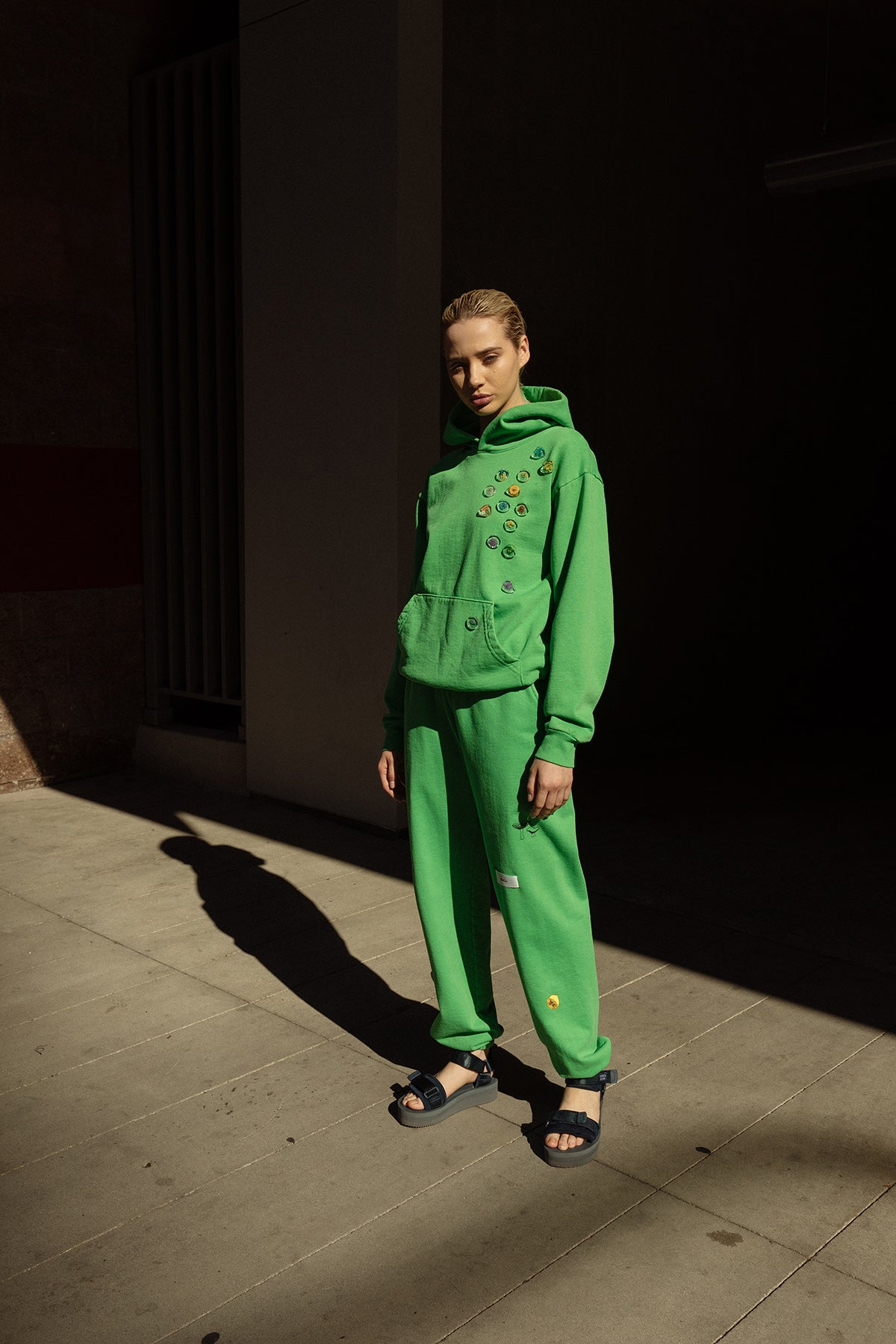 Forage Sweatpant in Lime