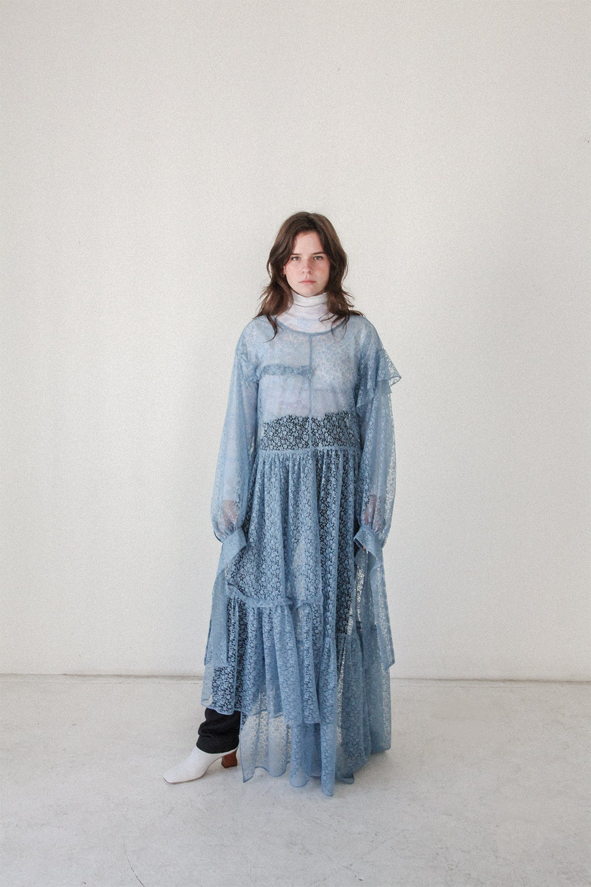 Nine Twenty-Seven Dress in Dusty Cloud