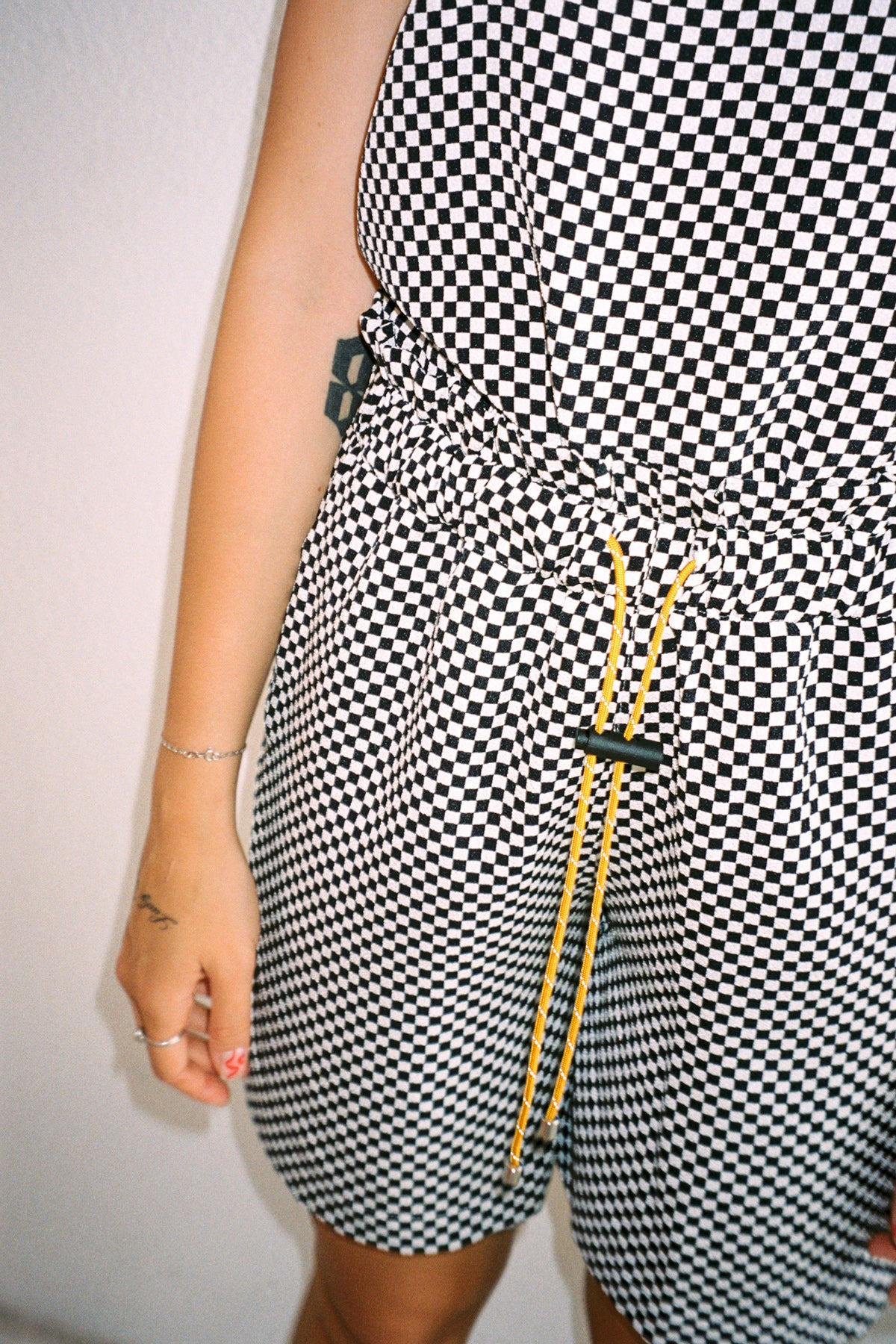 Tidal Short in Black & White Checker