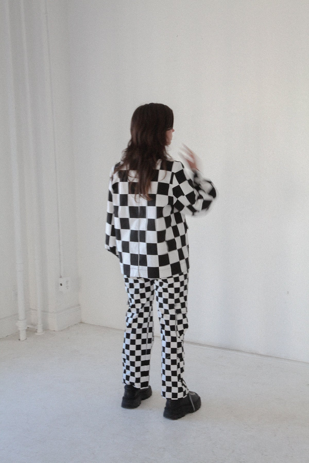 Utility Jacket in Checker