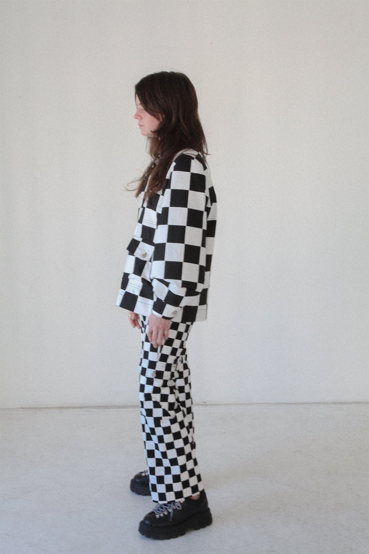 Utility Pant in Checker