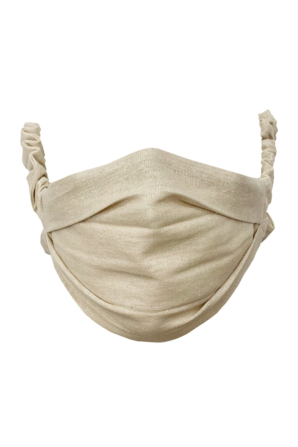 Face Mask in Natural Linen