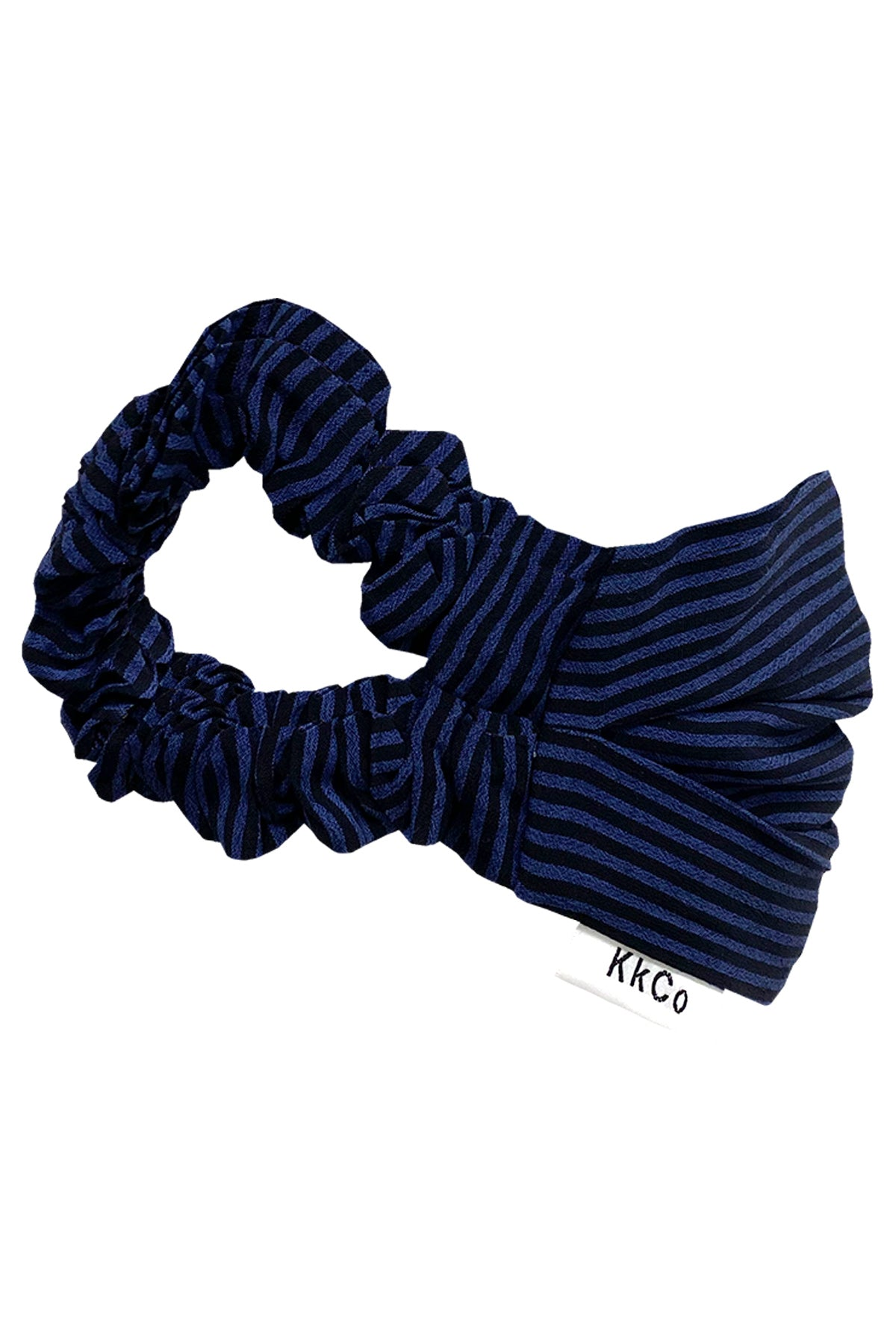 Face Mask in Navy Stripe