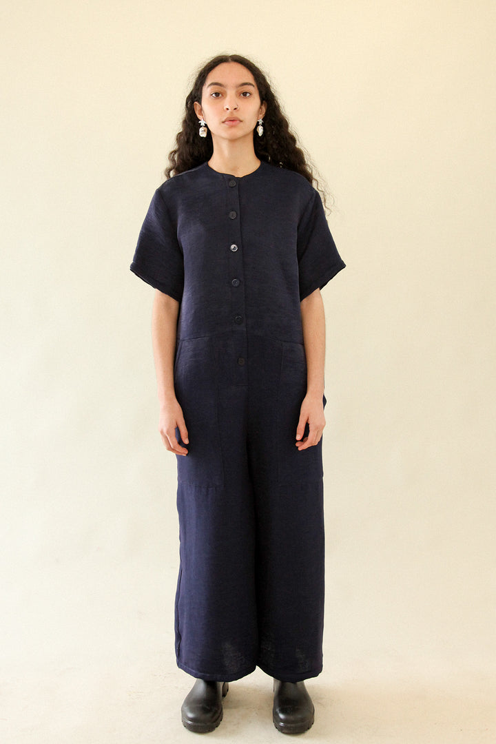 Utility Jumpsuit in Navy