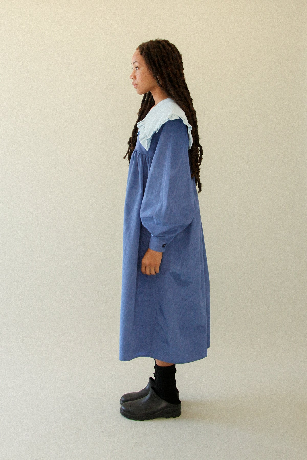 Sailor Dress in Mixed Sky