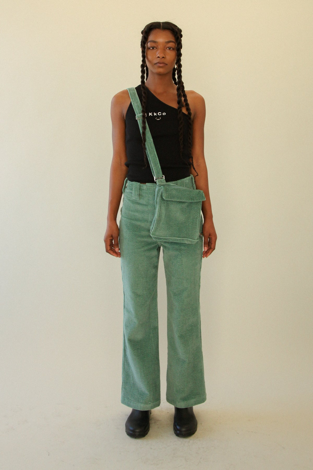 The Bag Pant in Sage Corduroy *PRE-ORDER*