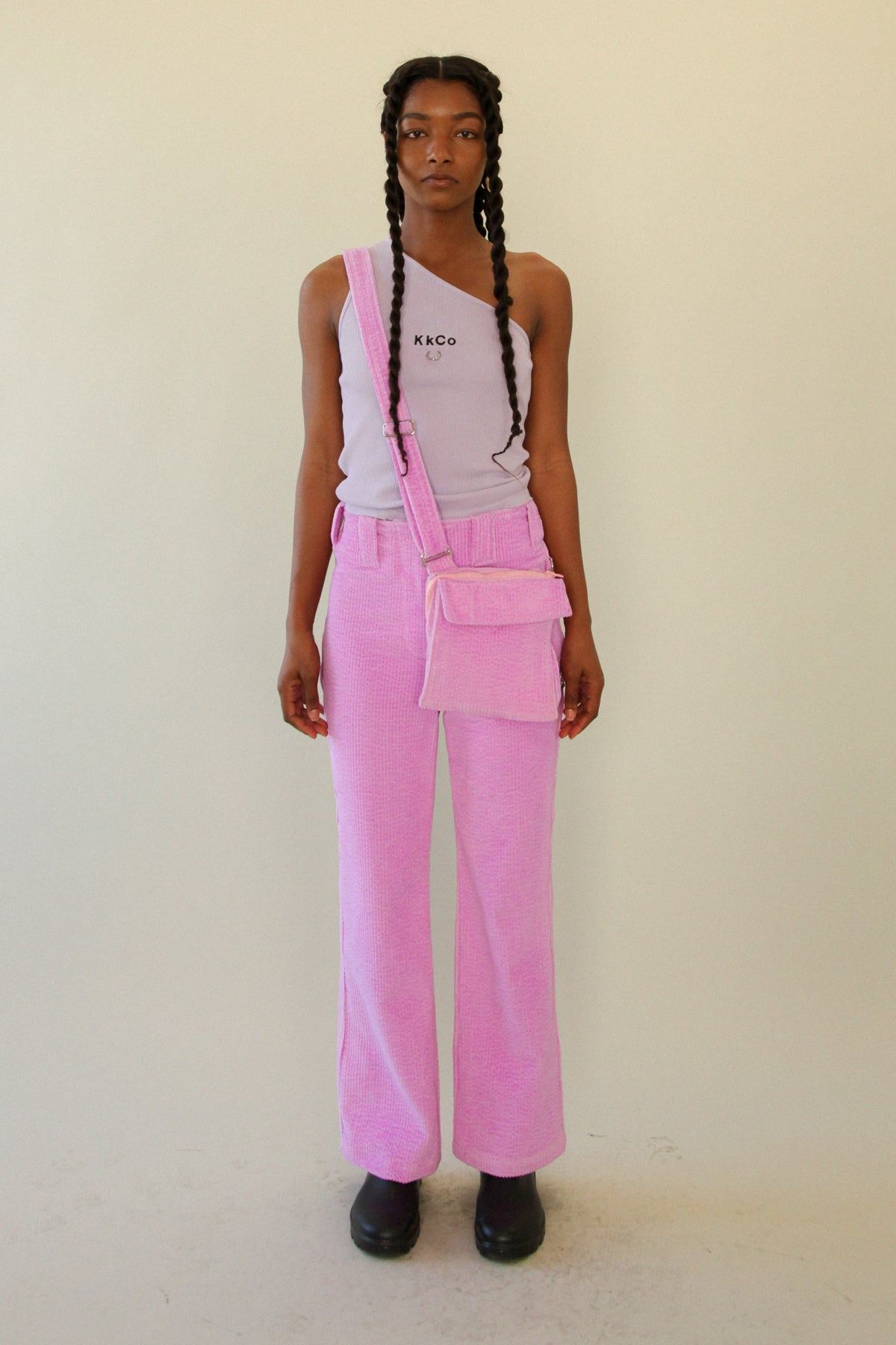 The Bag Pant in Petunia Corduroy *PRE-ORDER*
