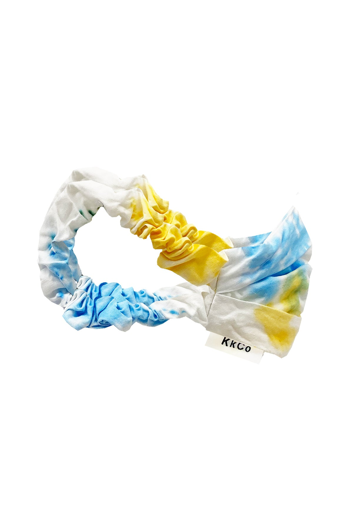 Face Mask in Cloud Tie-Dye