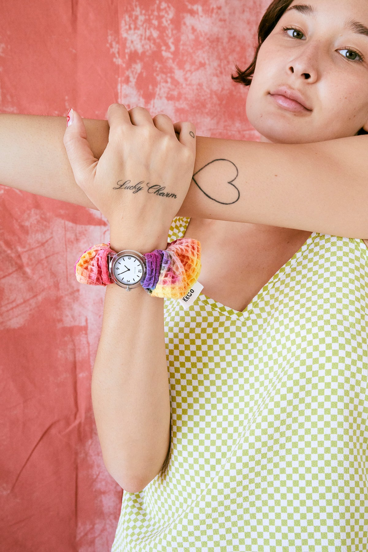 KkCo & Breda Scrunchie Sleeve & Watch Set