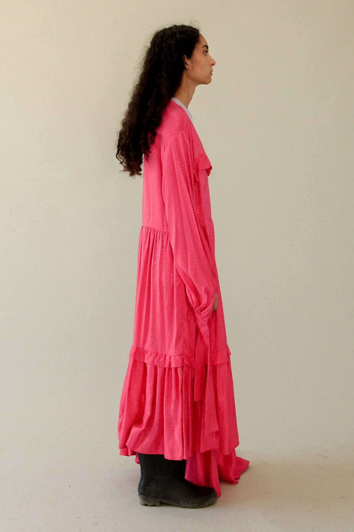 Nine Twenty-Eight Dress in Fuchsia