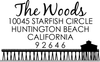 Pier Address Stamp