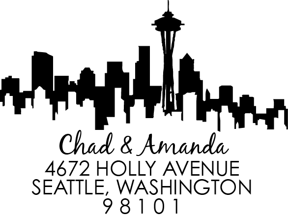 Seattle Address Stamp
