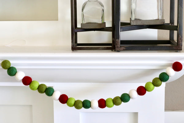 Christmas Greens Garland