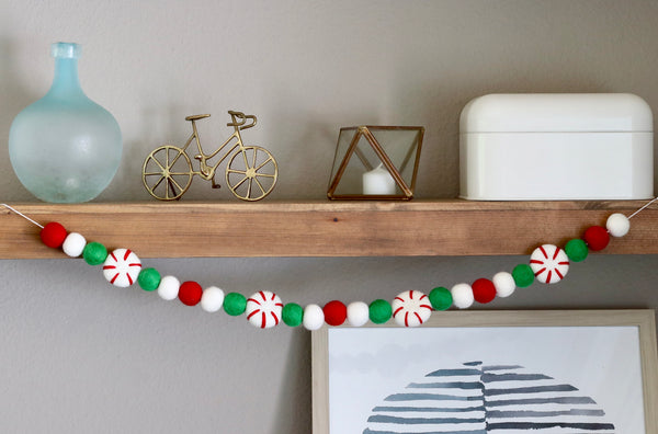 Peppermint Patty Garland