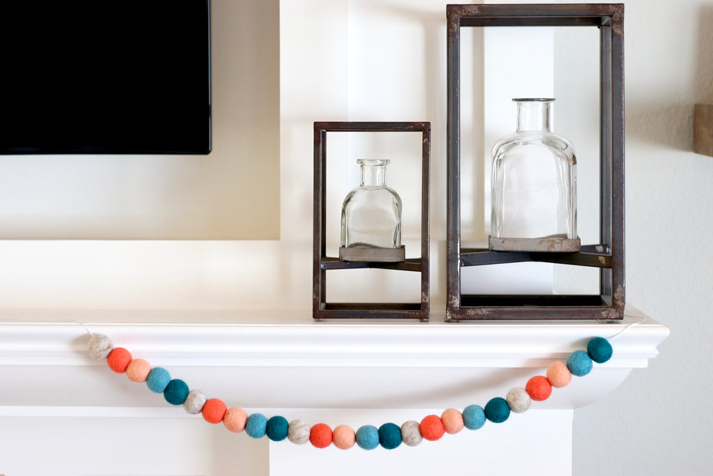 Coral Bright Garland