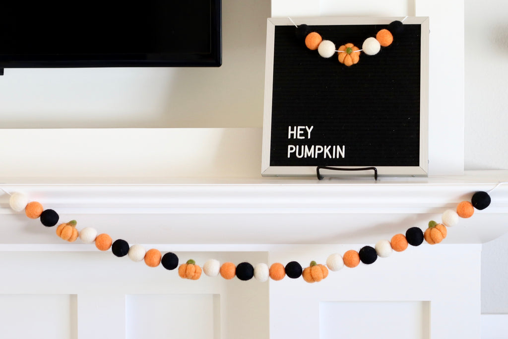 Hey Pumpkin Garland