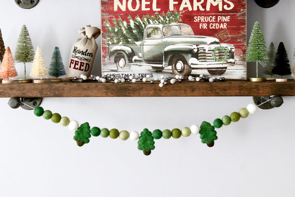 Christmas Tree Greens Garland