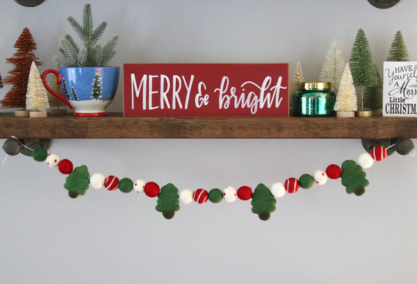 Merry Trees Garland
