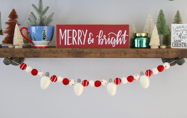White Lights Garland